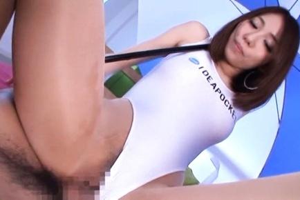 Arisu miyuki. Arisu Miyuki Asian sucks boner and rides