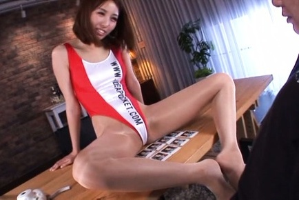 Arisu miyuki. Arisu Miyuki Asian with hot bum rubs dong with