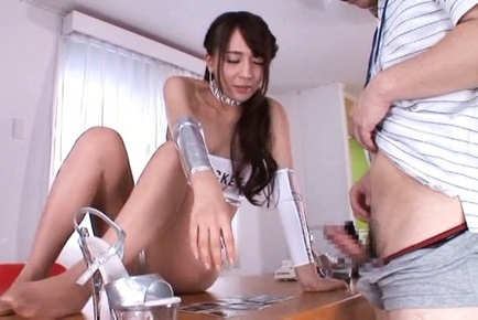 Jessica kizaki. Jessica Kizaki Asian touches man with lustful